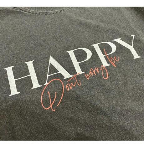 HAPPY T-shirt (Black)