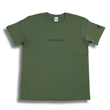 DEFINITION T-shirt (Kahki × Dark green)