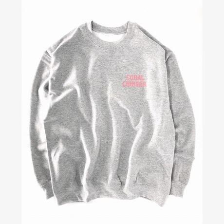 SURT  ×  Coral Cruiser .  Crewneck Sweatshirt【Gray】