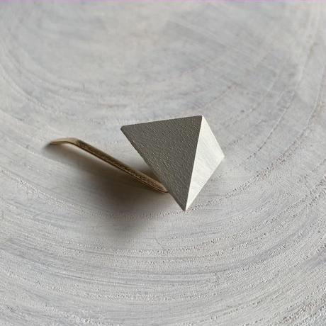 三角形ポニーフック ホワイト