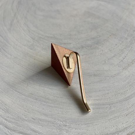 三角形ポニーフック レッドアップル