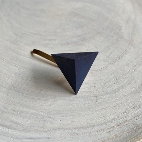 三角形ポニーフック ネイビー