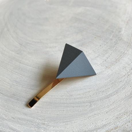 三角形ポニーフック スモークブルー