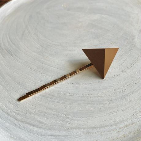三角形ヘアピン キャメル