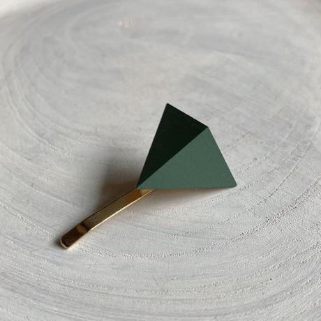 三角形ポニーフック スモーキーグリーン