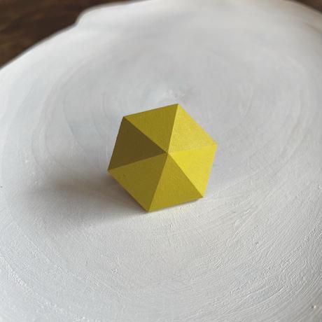 六角形イヤリング グレープフルーツ