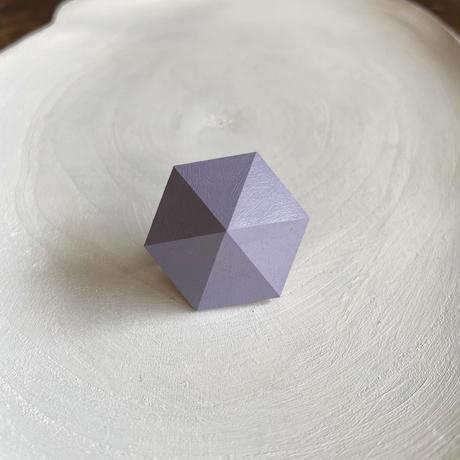 六角形イヤリング アイリス