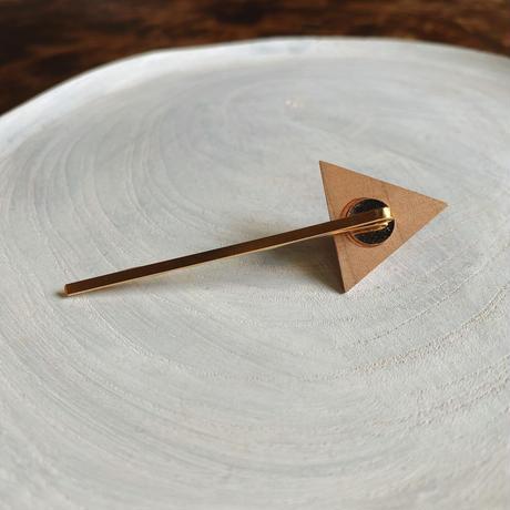三角形ヘアピン ピンク