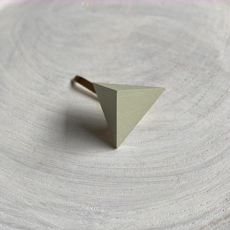 三角形ポニーフック ミストグリーン