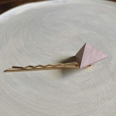 三角形ヘアピン ラベンダー