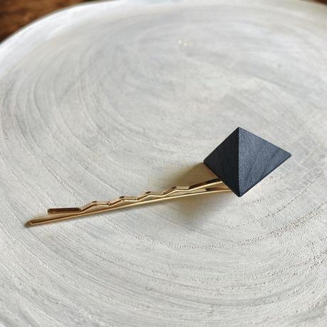 三角形ヘアピン ブルー