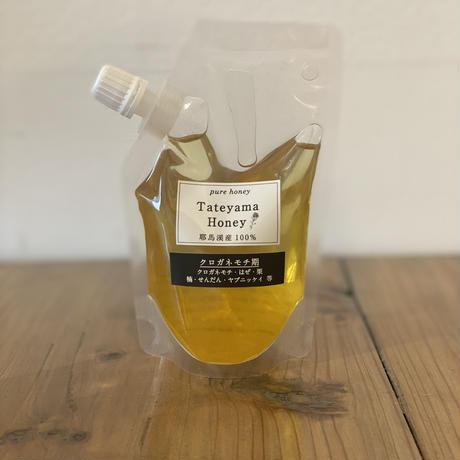 Tateyama Honey | クロガネモチ期 蜂蜜(140gパウチ)