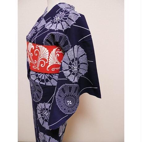【浴衣】傘文浴衣