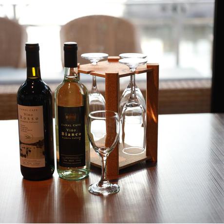 卓上ワイングラスハンガー