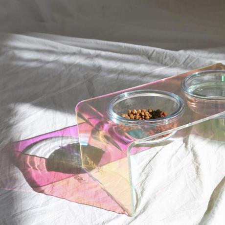 double オーロラテーブル ボウルx2 セット  L