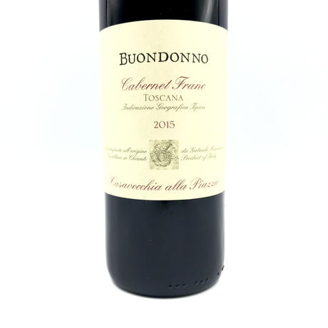 Buondonno・Cabernet Franc Toscana 2015