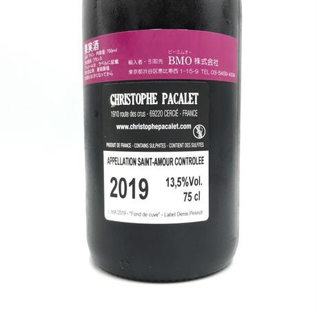 Christophe Pacalet・Saint Amour Fond de Cuve 2019