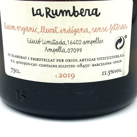 Oriol Artigas・La Rumbera 2019