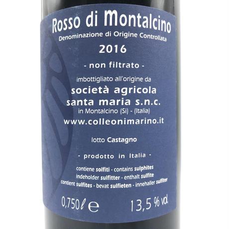 Santa Maria・Rosso di Montalcino 2016