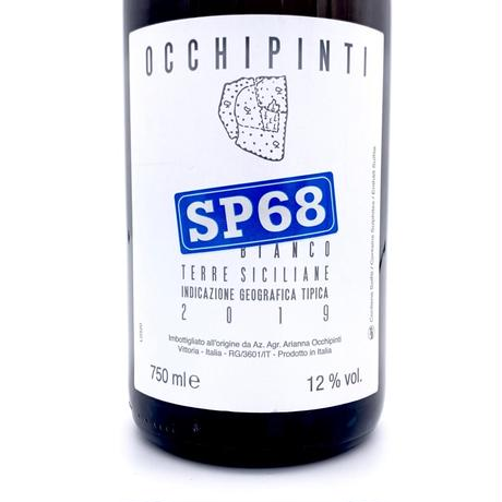Arianna Occhipinti・SP68 Bianco 2019