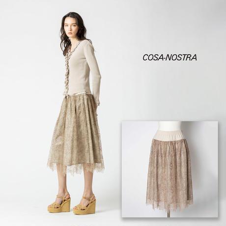 総レース素材のロングスカート NO.5205020E