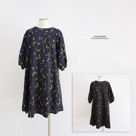 小花柄刺繍 ワンピース NO. 5202032G