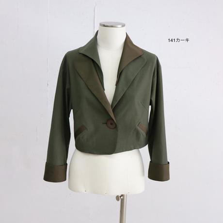 ショートジャケット(カットソーツイル素材) NO. 5202016C