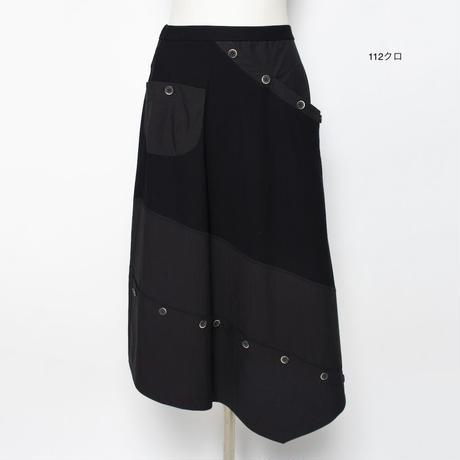 素材Mix デザインスカート5206212E