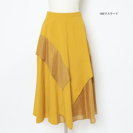 フレアデザイン スカート(ビンテージ素材)5205240E