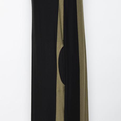大人の配色ワンピース(イタリア製)NO.T14109