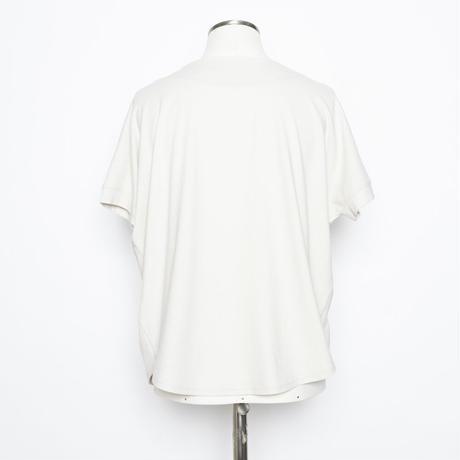 四角スカーフ柄プリント x 刺繍 PO 7205401A