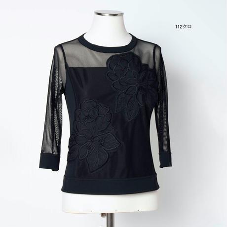 アップリケ刺繍 チュニック 5205221A