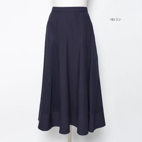 素材Mix エレガントロングスカート 5206224E