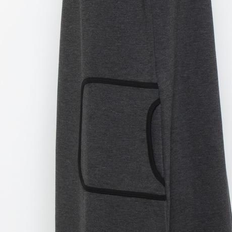ポンチ素材 Bigシルエットワンピース(イタリア製)NO.G19748