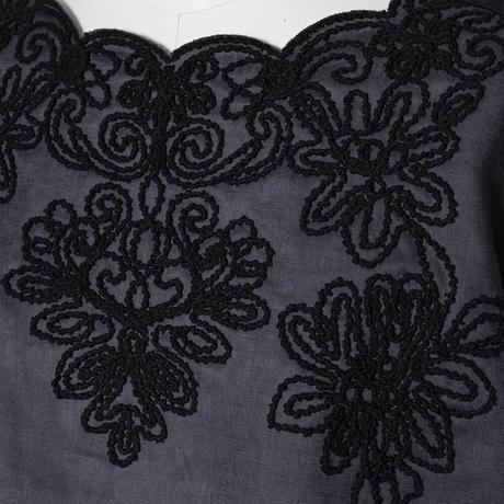 立体刺繍 プルオーバー(フレンチリネン使用)5206206A