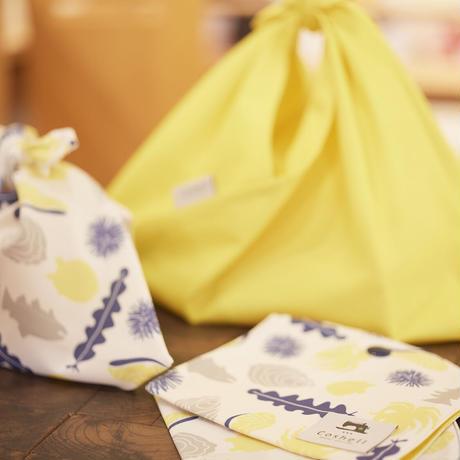 あずま袋 (海鮮柄)Sサイズ