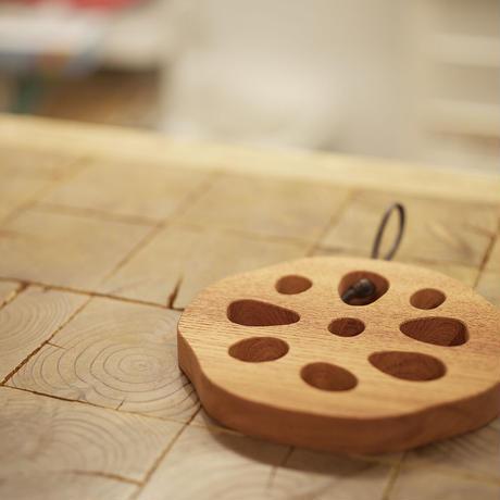 レンコン鍋敷き