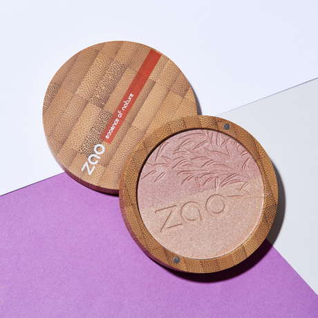 ZAO SHINE UP POWDER DUO -Shine of Light-