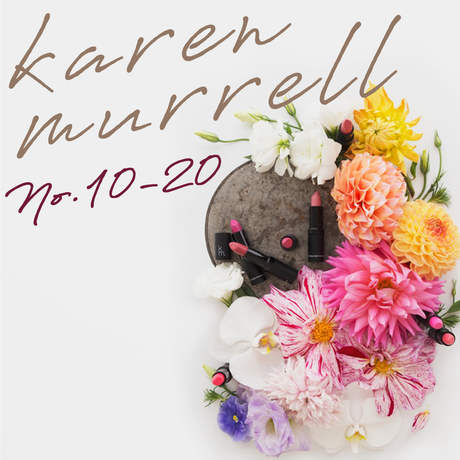 karen.murrell lip stick 13.16.18.19.20