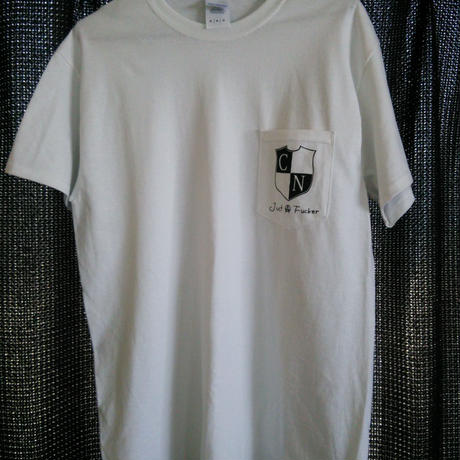 JUST A FUCKER Pocket T-shirt (WHITE)