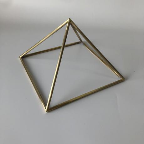 国産品 ピラミッドブースター™ S ゴールド(真鍮製)