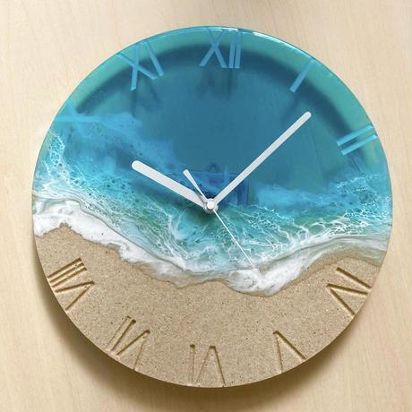 【受注生産】Turquoise Ocean Clock