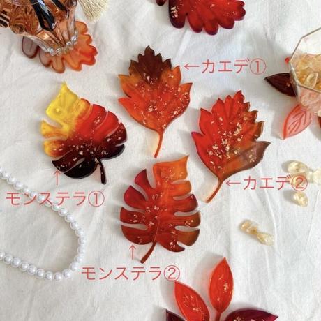 Leaf coaster