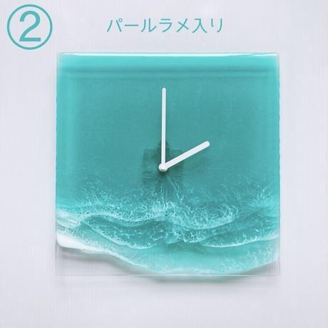 Clear Ocean Clock(エメラルド)