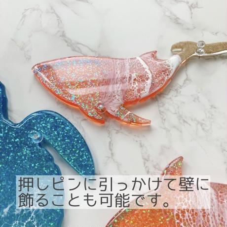 Marine life ornaments (Whale)