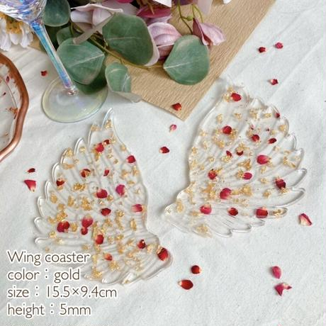 Round plate & Wing coaster