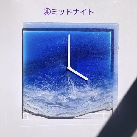Clear Ocean Clock(ミッドナイト)