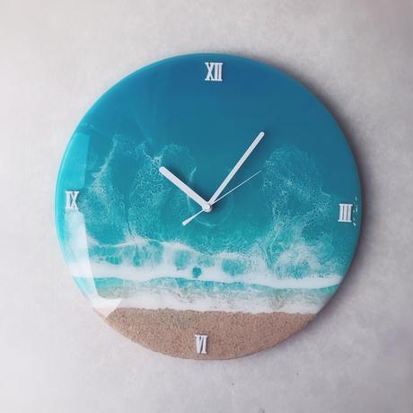 Ocean art Clock 36cm