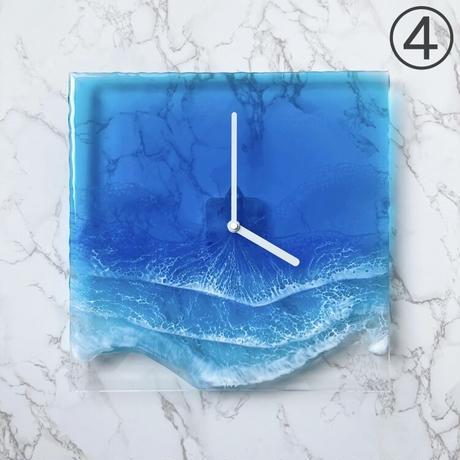 Clear Ocean Clock