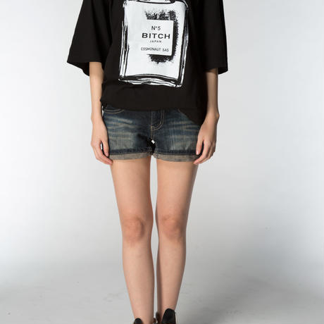 Smell the Like BITCH Tee  Mens Black